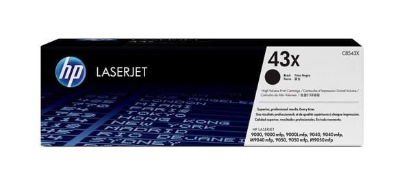 HP 43X High Yield Black Original LaserJet Toner Cartridge C8543X   C8543X   Rosman Computers - 2