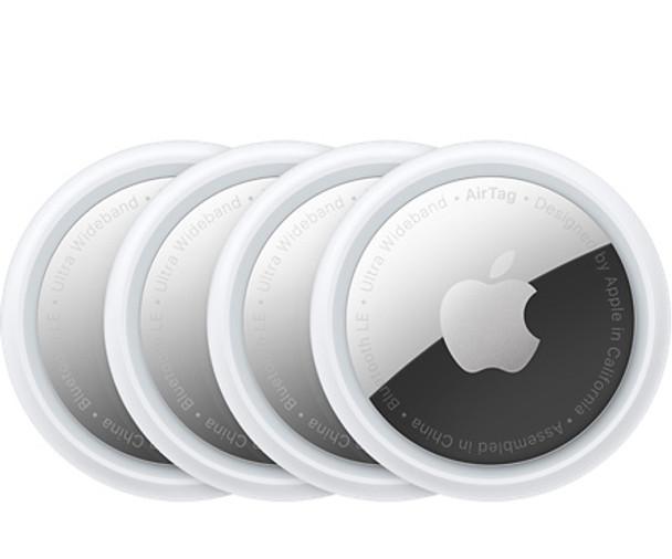 Apple AirTag (4 Pack)   MX542X/A   Rosman Computers - 1