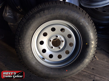 Spare Tire 205/70/15-5on4.5 silver