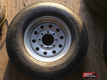 Spare Tire 235/80/16-8on6.5 black 14 PLY