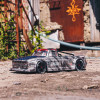 Arrma Infraction V2 6S BLX Brushless 1/7 RTR Electric 4WD Street Bash Truck, Silver w/DX3 2.4GHz Radio, Smart ESC and AVC