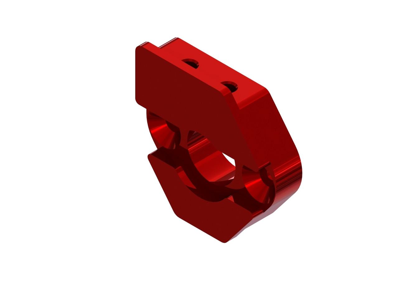 Pro Braking PBF7222-SIL-RED Front Braided Brake Line Silver Hose /& Stainless Red Banjos