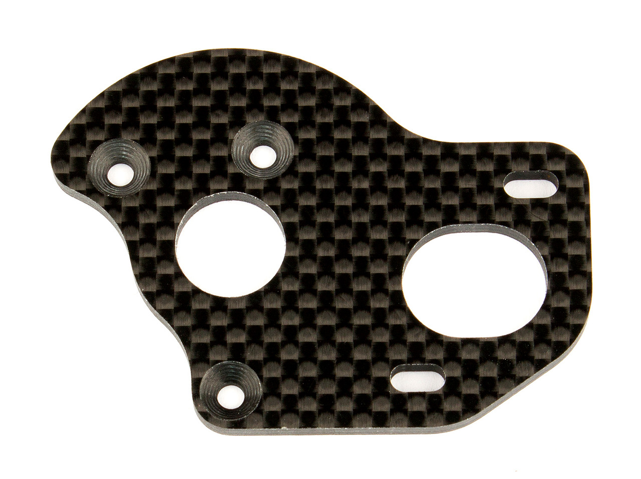 Team Associated 91796 Graphite Factory Team Laydown/Layback Motor Plate B6.1/B6.1D