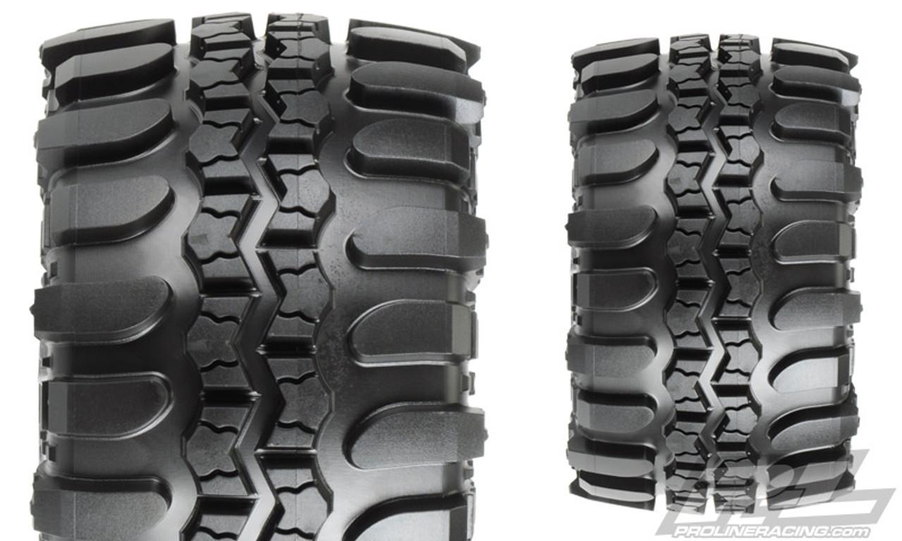 NEW Pro-Line Tires Rear Stampede Rustler SX Super Swamper 2.8 Interco TSL Pro...