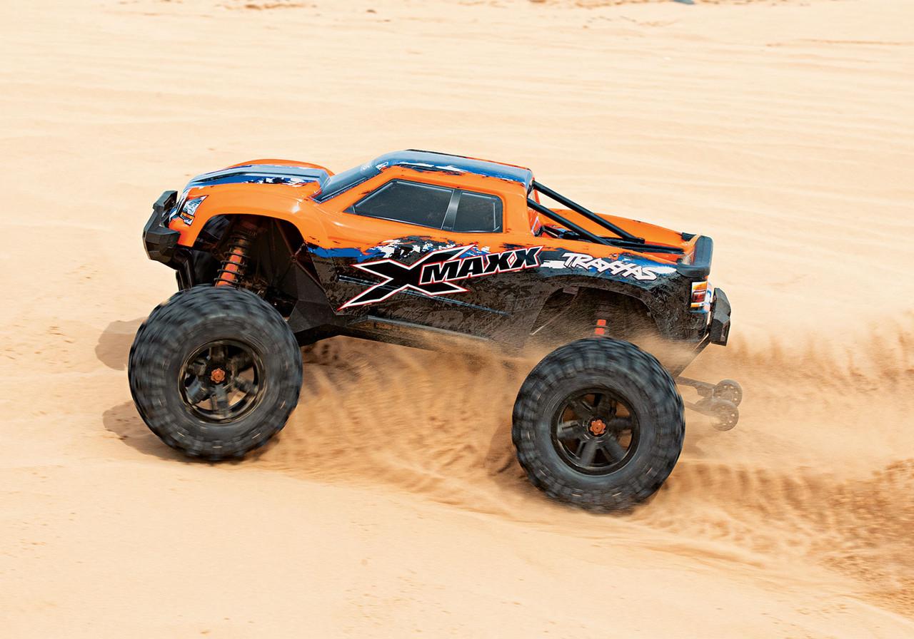 Traxxas 8S Rated 7772G X-Maxx montado pneus Rodas Verde X-Maxx Conjunto De 4 4
