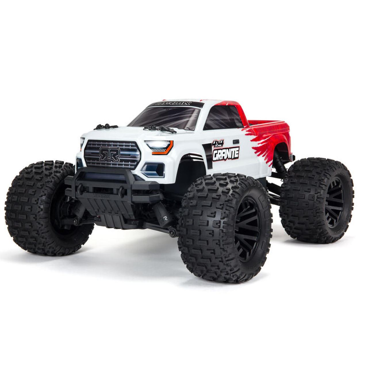 Arrma Granite 4x4 V3 550 Mega RTR Monster Truck (Red) w/ Spektrum SLT3 2.4GHz Radio