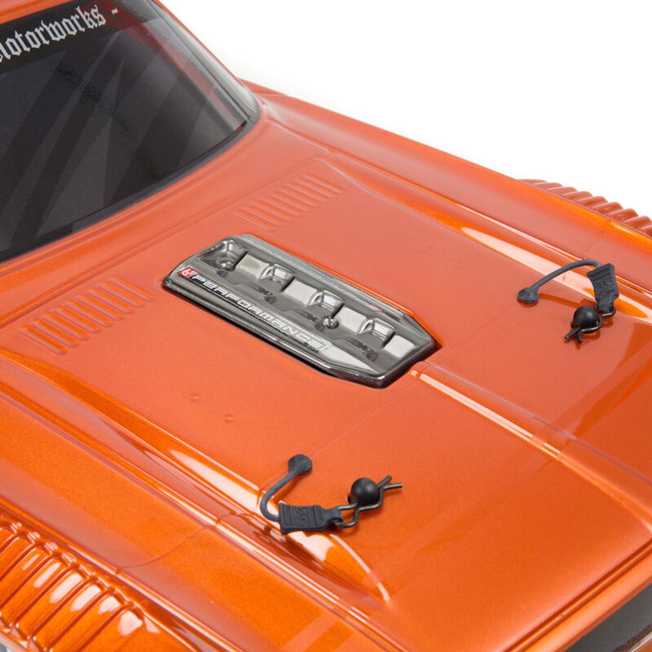 Arrma Felony Resto Mod 6S BLX Street Bash 1/7 4WD RTR, Orange