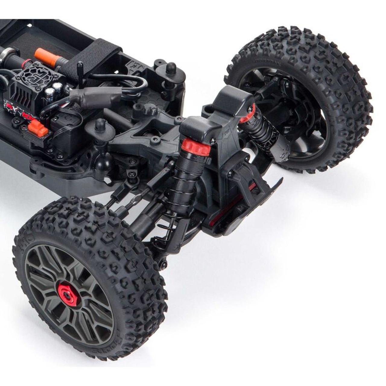 Arrma Typhon V3 3S BLX Brushless RTR 1/8 4WD Buggy (Red) w/Spektrum SLT3 2.4GHz Radio