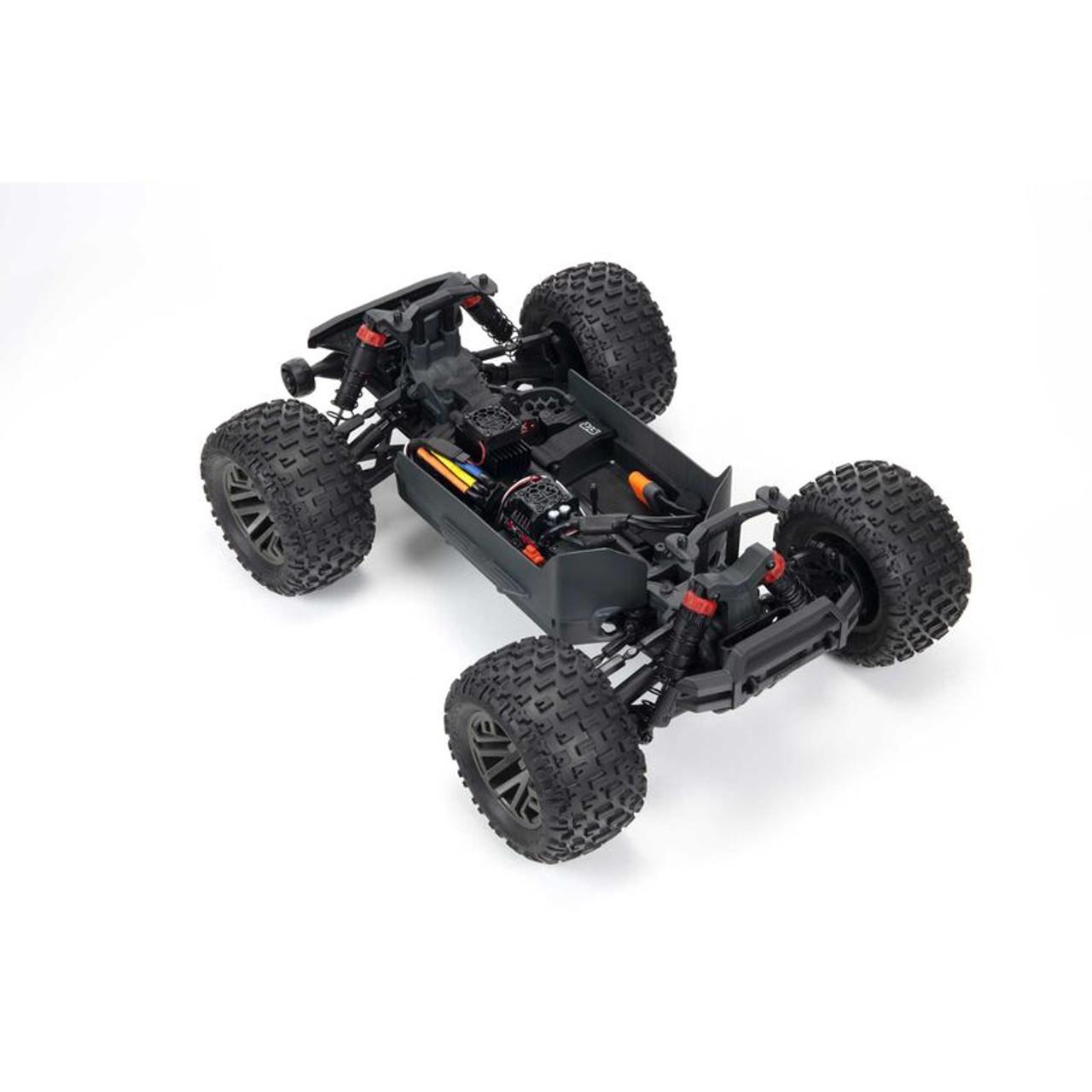 Arrma Granite 4X4 V3 3S BLX 1/10 RTR Brushless 4WD Monster Truck (Green) w/ Spektrum SLT3 2.4GHz Radio