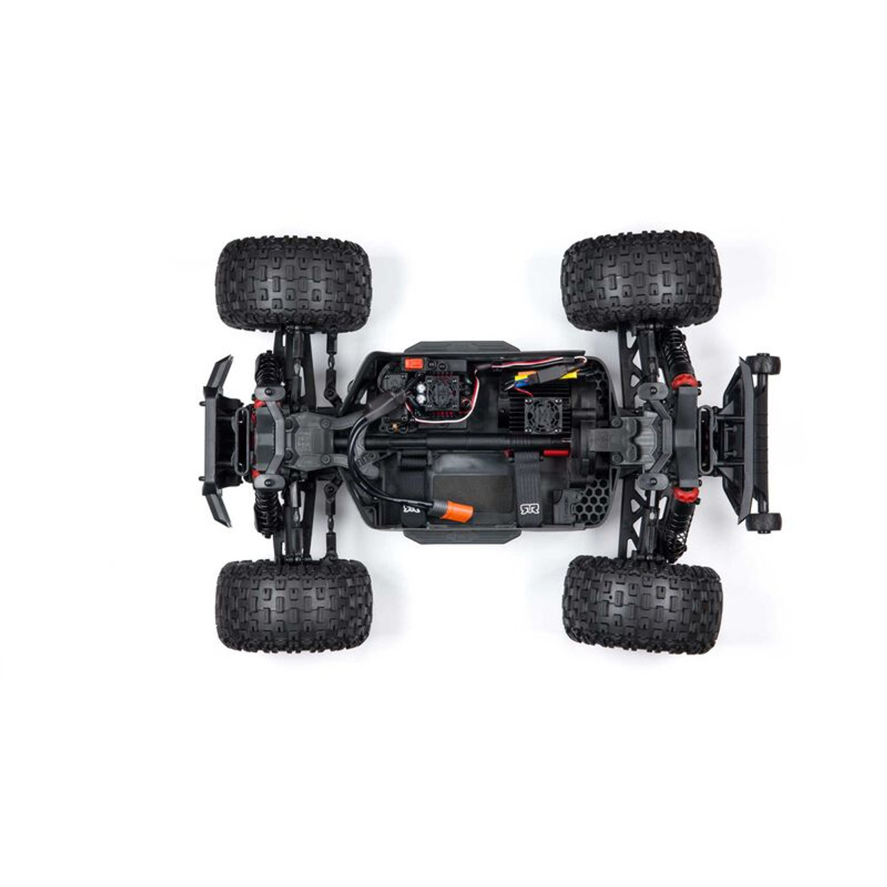 Arrma Granite 4X4 V3 3S BLX 1/10 RTR Brushless 4WD Monster Truck (Red) w/ Spektrum SLT3 2.4GHz Radio