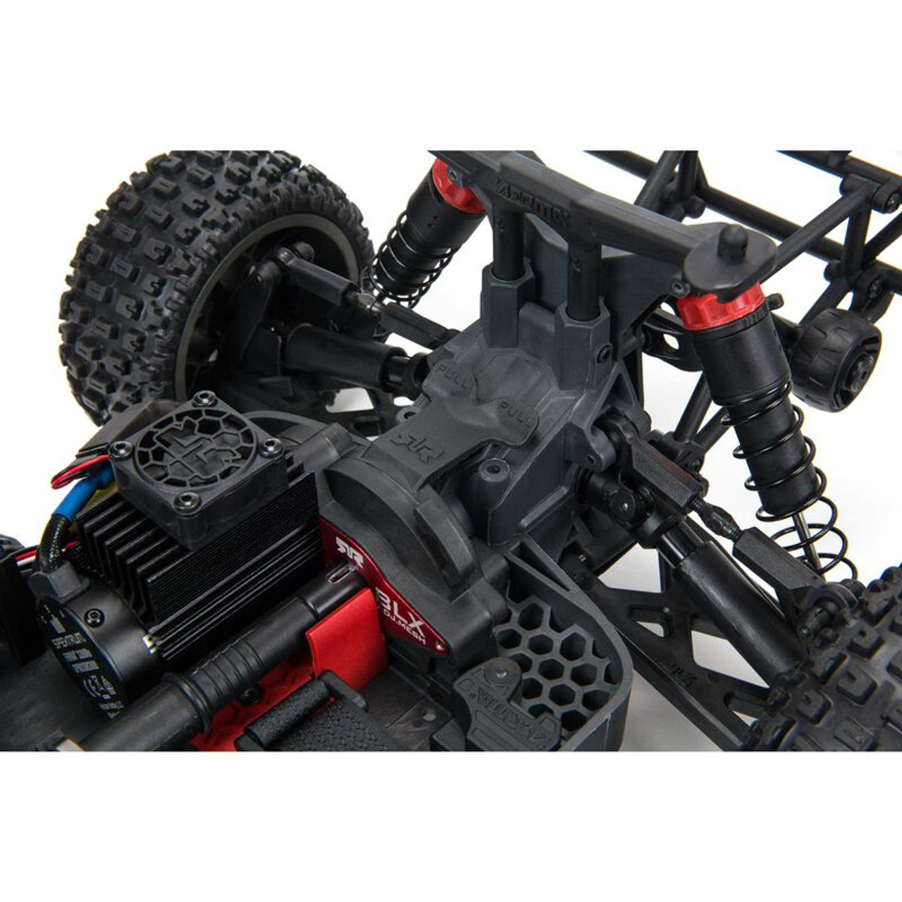 Arrma Senton 4X4 V3 3S BLX 1/10 RTR Brushless Short Course Truck (Red) w/Spektrum SLT3 2.4GHz Radio
