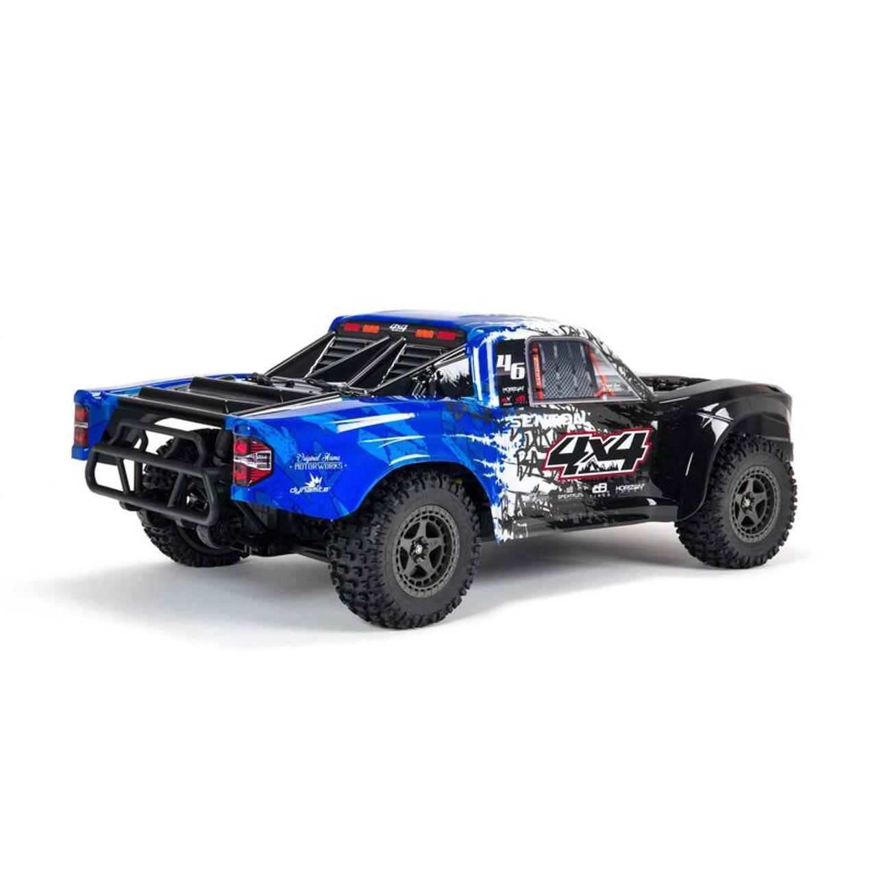 Arrma Senton 4X4 V3 3S BLX 1/10 RTR Brushless Short Course Truck (Blue) w/Spektrum SLT3 2.4GHz Radio