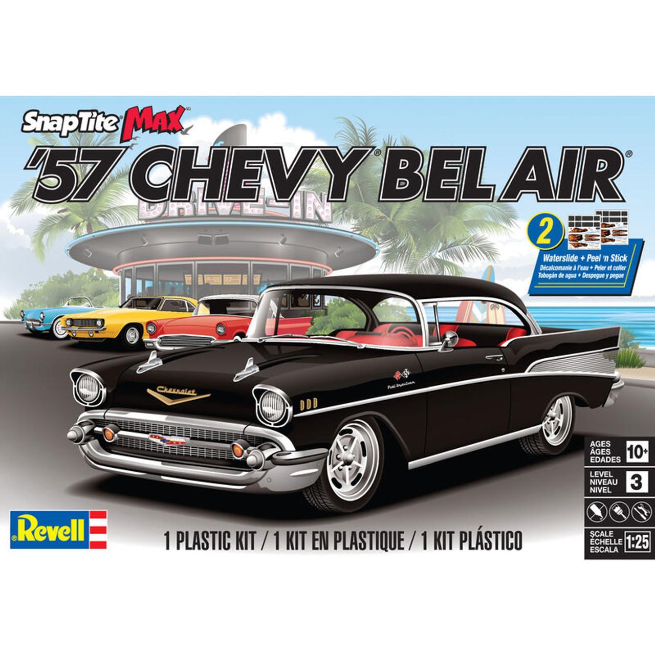 Revell 851529 1/25 '57 Chevy Bel Air Snap Model Kit