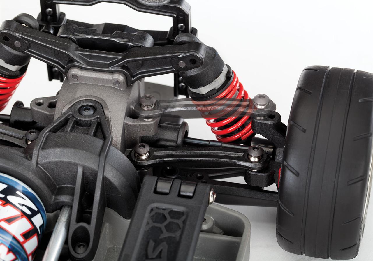 Traxxas 4-Tec 3.0 1/10 RTR Touring Car w/Corvette Stingray Body (Black) & TQ 2.4GHz Radio System