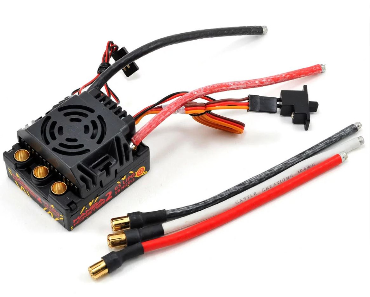 Castle Creations Mamba Monster 2 1/8th scale ESC