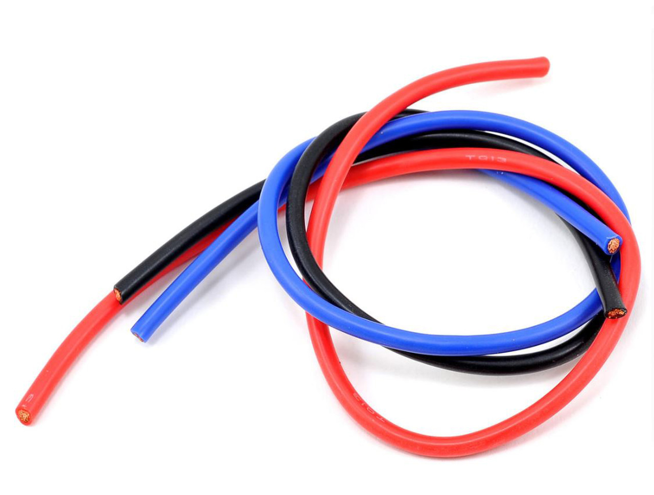 13 Gauge Super Flexible Wire Blue 3/' TQ Wire