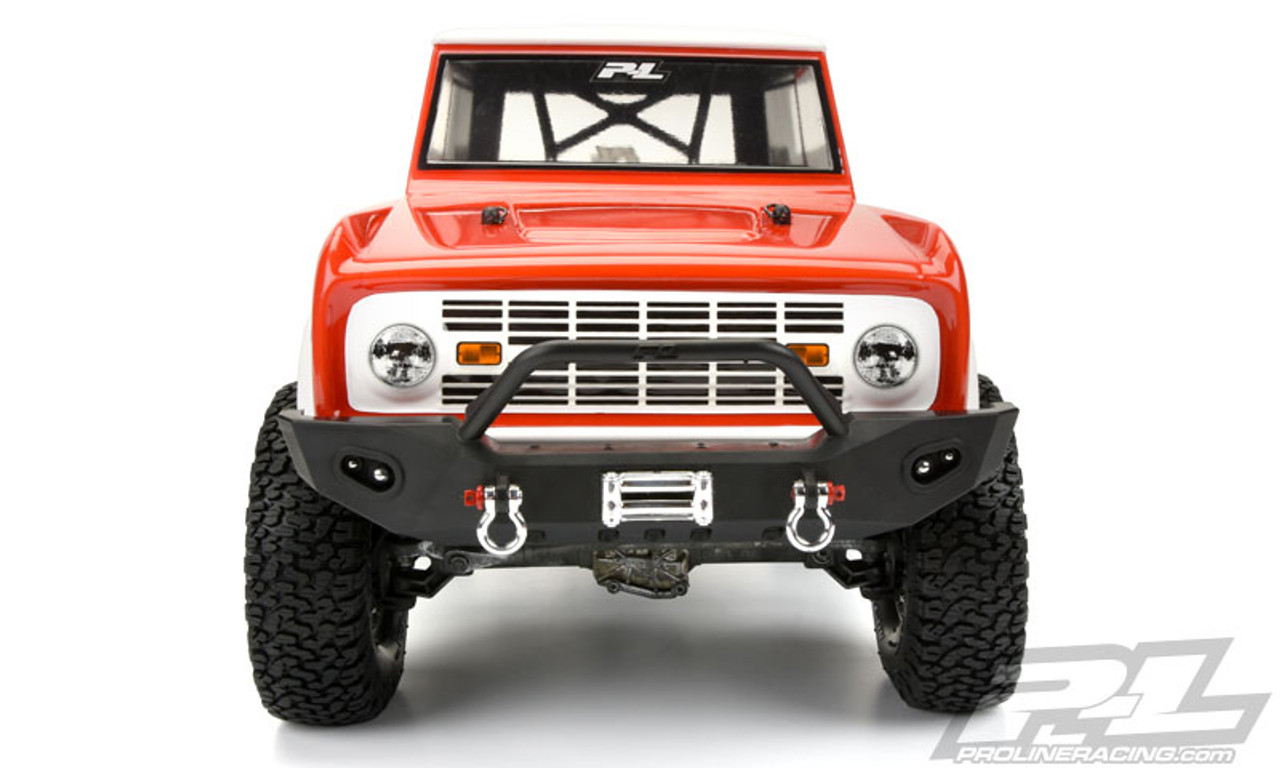 1//10 TRX-4 Decals Traxxas TRA8010 Clear Unpainted Ford Bronco Body