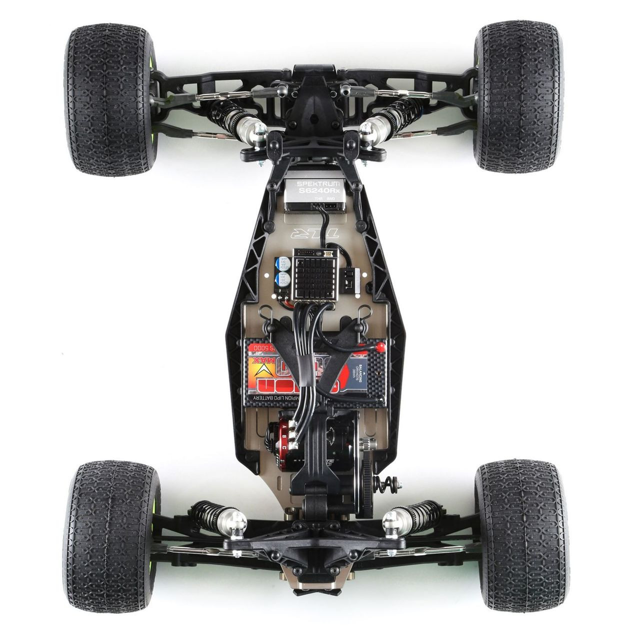 New tracking# in Package TLR1100 Front A Arm Set Losi 22T Free Shipping