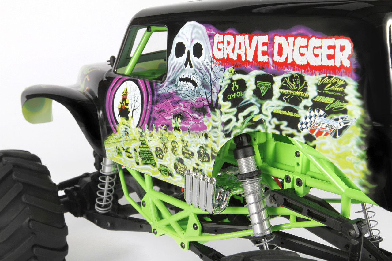 Axial SMT10™ Grave Digger 4WD RTR Monster Truck (AX90055)
