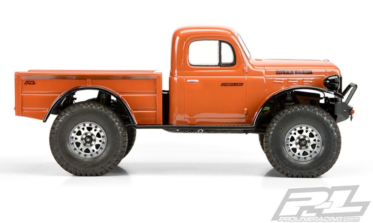 Pro Line 3499 00 1946 Dodge Power Wagon 12 3 Crawler Body Clear Pro349900