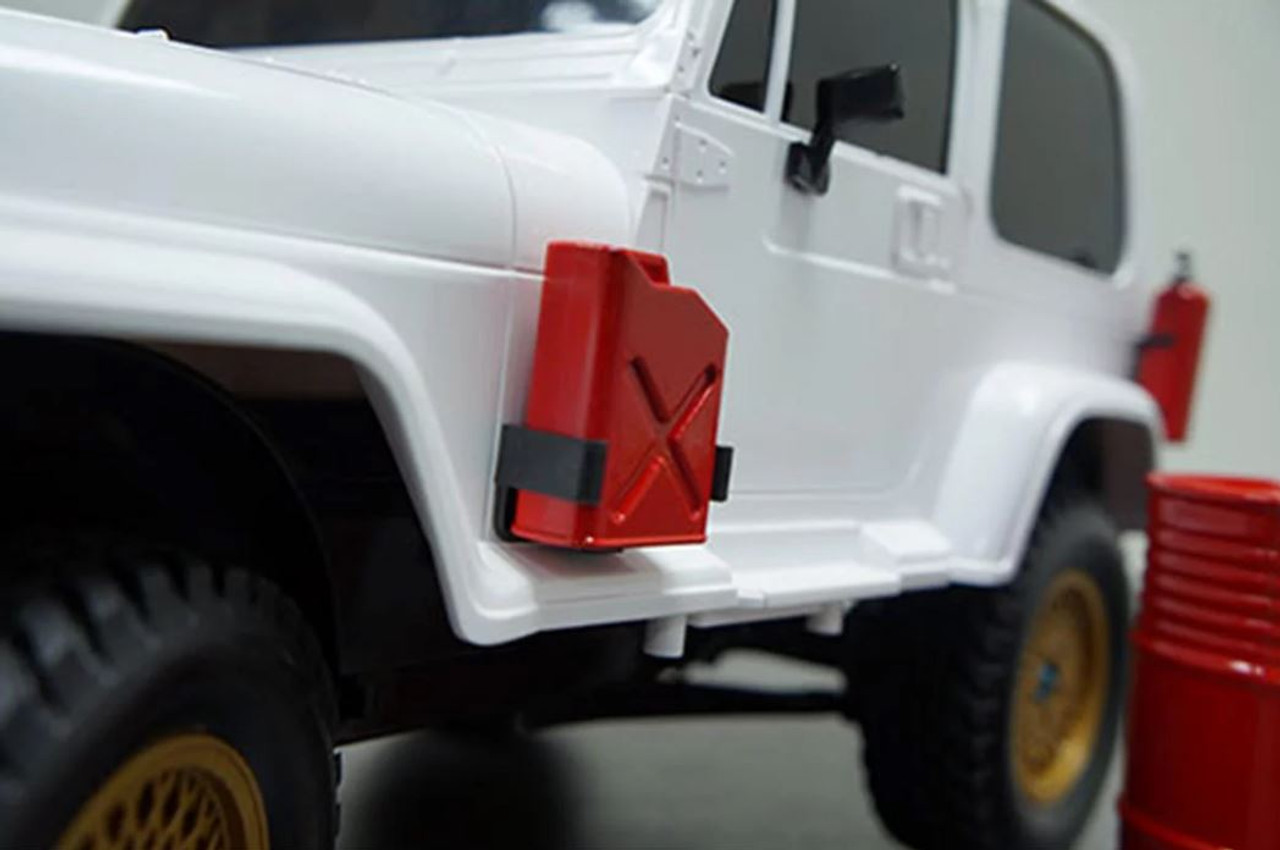 Fire Extinguisher YEA-YA-0352 Yeah Racing 1//10 Crawler Scale Accessory Set