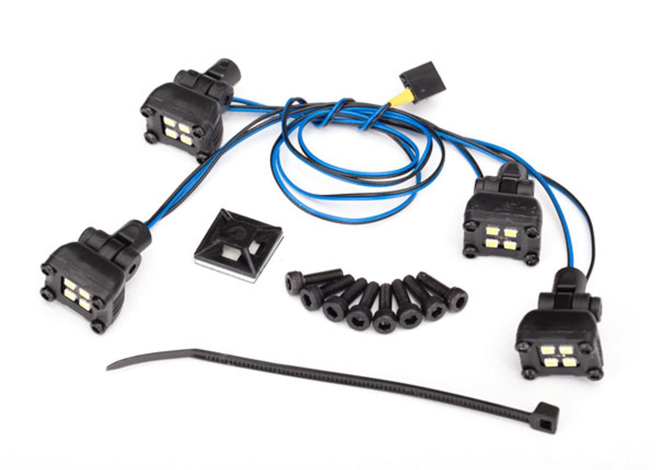Traxxas 8086 LED Expedition Rack Scene Light Kit TRX-4 Sport on