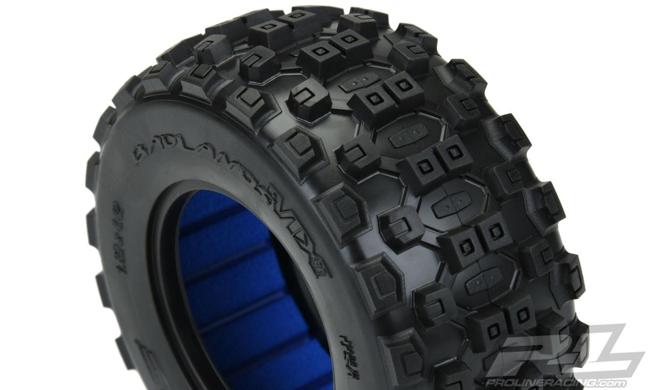 Pro-Line Badlands MX SC 2.2//3.0 Short Course Tires 10156-01