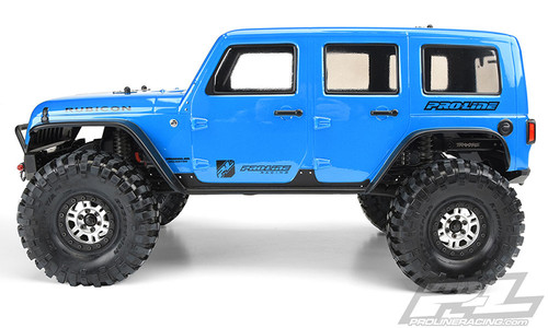 Pro-Line 3502-00 Jeep Wrangler Unlimited Rubicon Body (TRX-4) (Clear)