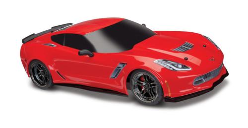 Traxxas 8386R Chevrolet Corvette Z06 Body Red