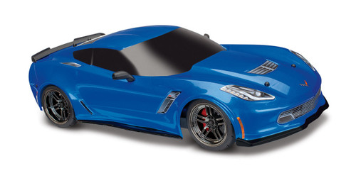 Traxxas 8386X Chevrolet Corvette Z06 Body Blue