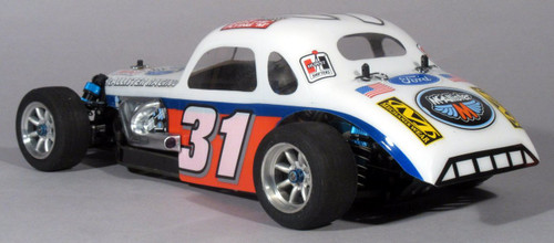McAllister Racing #240 1/10 Vintage Modified Coupe Body w/ Decal