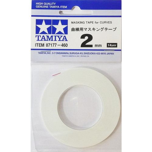 Tamiya 87177 Masking Tape for Curves (2mm)