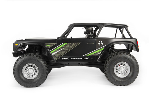 Axial Wraith 1/10 Scale Electric 4WD RTR, Black