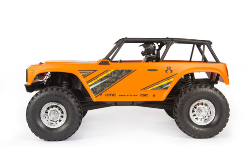 Axial Wraith 1/10 Scale Electric 4WD RTR, Orange