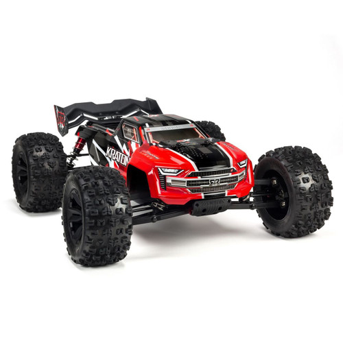 Arrma 1/8 KRATON 6S BLX 4WD Brushless Speed Monster Truck (Red)
