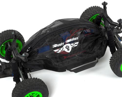 Dusty Motors Traxxas Slash 4X4 HCG Chassis Protection Cover (Black)