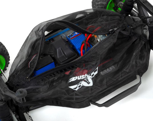 Dusty Motors Traxxas Slash 2wd LCG Chassis Protection Cover (Black)