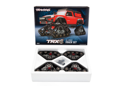 "Traxxas TRX-4 All Terrain ""Traxx"" Complete Set Front and Rear"
