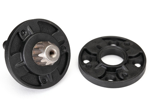 Black Traxxas 8541 Rear Axle Differential Carrier