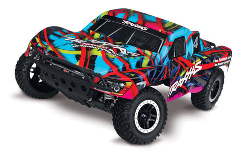 Traxxas Slash VXL 2WD Brushless 1/10 RTR Short Course Truck w/TQi, TSM (Hawaiian)