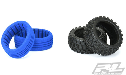 Pro-Line 9067-01 Badlands MX 1/8 Buggy Tires w/Closed Cell Inserts (M2) (2)