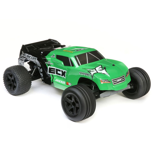 ECX 1/10 Circuit 2WD Stadium Truck Brushed RTR (Green)