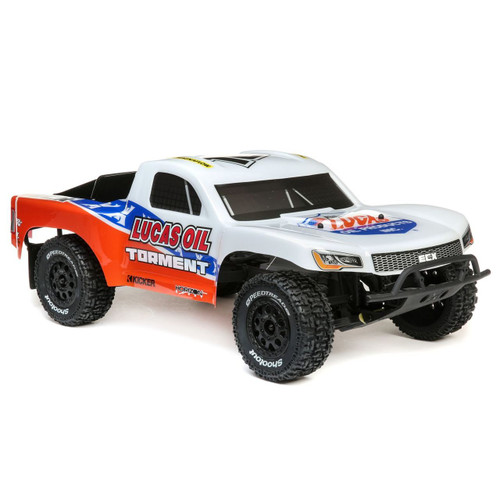 ECX 1/10 Torment 2WD SCT Brushed RTR, No Battery/Charger (Lucas Oil)