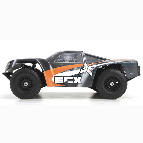 ECX 1/18 Torment 4WD Short Course Truck RTR (Gray/Orange) (ECX01001T1)
