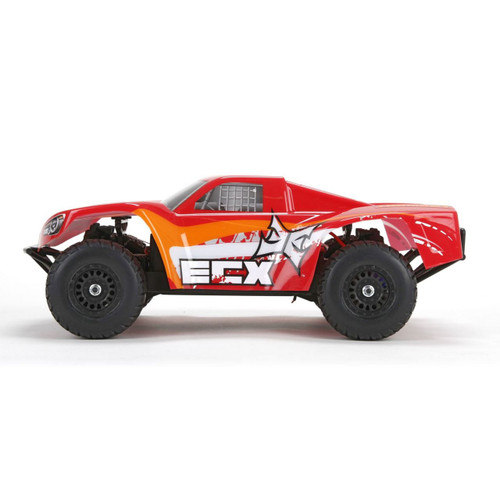 ECX 1/18 Torment 4WD Short Course Truck RTR (Red/Orange) (ECX01001T2)