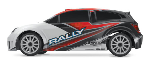 Traxxas LaTrax Rally 1/18 4WD RTR Rally Racer w/ 2.4GHz 2-Channel Radio (Red)