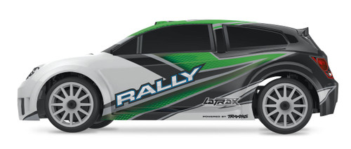 Traxxas LaTrax Rally 1/18 4WD RTR Rally Racer w/ 2.4GHz 2-Channel Radio (Green)