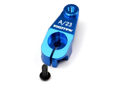 Exotek Racing Aluminum AE HD Servo Horn - Blue