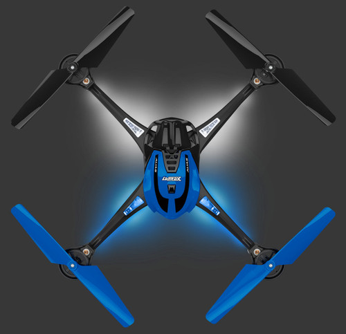Traxxas 6608 LaTrax Alias Ready-To-Fly Micro Electric Quadcopter Drone Blue
