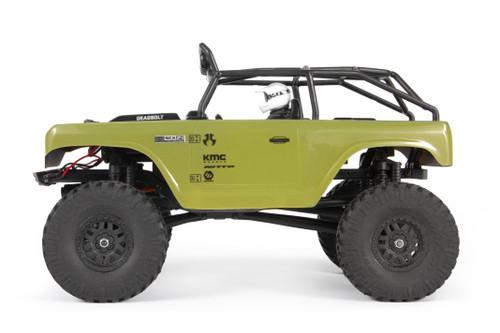 Axial 1/24 SCX24 Deadbolt RTR Scale Mini Crawler w/2.4GHz Radio (Green)